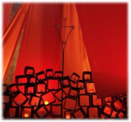 Nacht der Lichter Gottesdienst als mp3 Audio mit Gesänge Taize